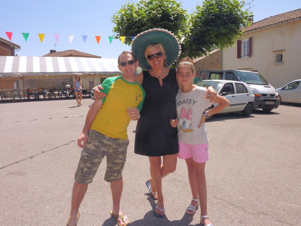 Jean, Marlène, Emma