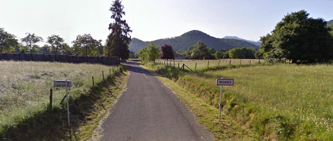 entrée ouest du village