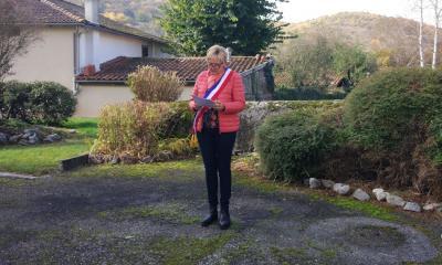 Mme Gasto Marlène Maire de REGADES